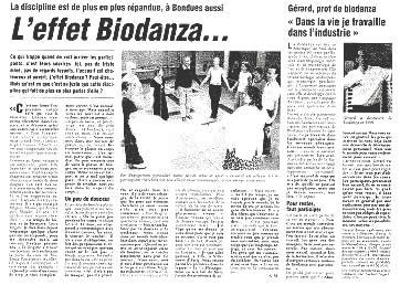 l'effet biodanza