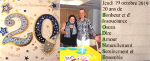 20 ans de Biodanza Lille et Nord-pas de Calais avec Gérard